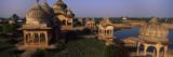 Ruins of a Temple at the Riverside  Govardhan Temple  Mathura District  Uttar Pradesh  India