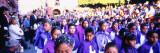 Girls and Boys Walking in a Good Friday Procession  San Miguel de Allende  Guanajuato  Mexico