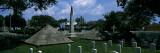 Seminole Indian War Pyramid Monument  Saint Augustine National Cemetery  Florida