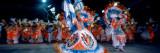 Woman Dancing in Carnaval Costume Rio De Janeiro Brazil