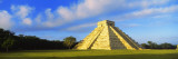 Pyramid in a Field  Kukulkan Pyramid  Chichen Itza  Yucatan  Mexico