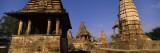 Ruins of a Temple  Khajuraho Temple  Khajuraho  Chhatarpur District  Madhya Pradesh  India