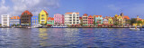 Buildings at the Waterfront  Willemstad  Curacao  Netherlands Antilles