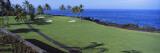 Golf Course at the Oceanside  Kona Country Club Ocean Course  Kailua Kona  Hawaii  USA