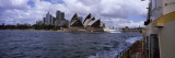 Buildings at the Waterfront  Sydney Opera House  Sydney Harbor  Sydney  New South Wales  Australia