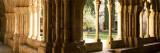 Corridors of a Monastery  Poblet Monastery  Conca De Barbera  Tarragona Province  Catalonia  Spain
