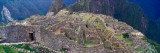 View of an Archaeological Site  Inca Ruins  Machu Picchu  Cusco Region  Peru