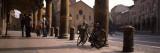 Colonnade in Front of Church  Basilica Santuario Di Santo Stefano  Emilia-Romagna  Italy