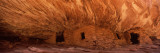 Dwelling Structures on a Cliff  House of Fire  Anasazi Ruins  Mule Canyon  Utah  USA