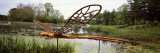 Sculpture of a Dragonfly in an Arboretum  Morton Arboretum  Lisle  Dupage County  Illinois  USA