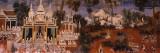 Ramayana Murals in a Palace  Royal Palace  Phnom Penh  Cambodia