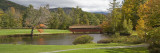 Covered Bridge in Golf Course  Jack O'Lantern Golf Course  Thornton  Grafton County  New Hampshire