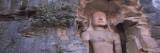 Buddha Sculpture Carved on a Wall  Gwalior Fort  Gwalior  Madhya Pradesh  India