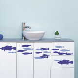 Fish shoal (Water Resistant Decal)
