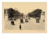 Avenue of the Champs-Elysees