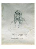 Portrait of Big Canoe Or-Tunta Tle-A or Nek-Hal-Tsa