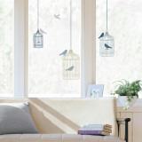 Bird Cages Window Decal Sticker
