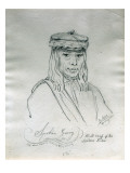 Portrait of Spokan Garry Head Chief of the Spokan Tribe