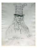Portrait of Lawyer Hal-Hal-Tlostsot Head Chief of the Nez Perce Tribe