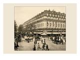 The Grand Hotel and the Cafe de la Paix