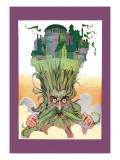 Oz on Ruggedo's Head