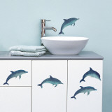 Dolphins (Water Resistant Decal)