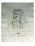 Portrait of Kamayakhen Head Chief of the Yakimas