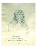 Portrait of Looking Glass Apash-Wa-Hay-Ikt Chief of the Nez Perce Indians