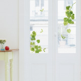 Green Leaves  (Window Decal)