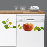 Pumpkin (Water Resistant Decal)