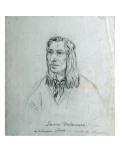 Portrait of James Delaware - a Delaware Indian