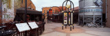 Restaurants in a Street  Fort Collins  Larimer County  Colorado  USA