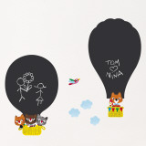 Hot air balloons (Water Resistant Decal)
