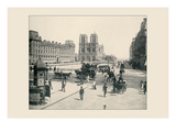 The Pont St Michel and Notre Dame