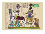 Ramses III Returning with His Prisoners