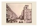 Rue St Antoine and Hotel de Ville