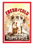 Fresh and Cold  Direct from the North Pole