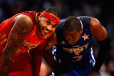 2011 NBA All Star Game  Los Angeles  CA - February 20: Carmelo Anthony and Dwyane Wade