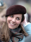 Kate Middleton in the Royal box at Cheltenham racecourse  March 16th 2007