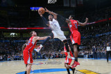 Los Angeles Clippers v Oklahoma City Thunder  Oklahoma City  OK - February 22: Russell Westbrook  B