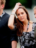 Kate Middleton enjoy in the concert in Hyde Park tonight