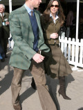 Prince William and Kate Middleton at Cheltenham  March 13th 2007