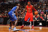 2011 NBA All Star Game  Los Angeles  CA - February 20: Carmelo Anthony and Kevin Garnett
