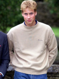 Prince William holds a photo call at Highgrove September 2000 publicly condemned royal traitor Patr
