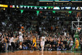 Los Angeles Lakers v Boston Celtics  Boston  MA - February 10: Ray Allen