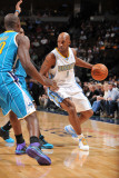 New Orleans Hornets v Denver Nuggets  Denver - January 9: Chauncey Billups