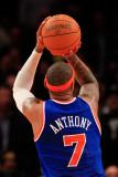 Milwaukee Bucks v New York Knicks  New York  NY - February 23: Carmelo Anthony