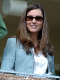 Kate Middleton in the Royal box at Cheltenham racecourse  16th March 2007