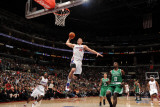 Boston Celtics v Los Angeles Clippers  Los Angeles  CA - February 26: Blake Griffin and Jeff Green