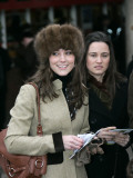 Prince Williams girlfriend Kate Middleton seen here arriving at the Cheltenham Festival on Gold Cup